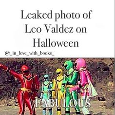 I love Leo Valdez, he's so cute