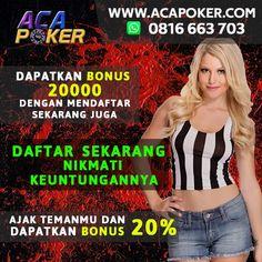deposit 20.000 bonus 20.000 bagi new member #pokeronline #pokerindonesia #pokeronlineindonesia #poker88life #poker88city #agenpokerglx #dominoasia #agenpoker #agenpokerindonesia #pokerplayer #situspoker #websitepoker #pokergame #bandarpoker #bandarpokeronline #situspoker #websitepoker #acapoker #glxpoker #judipoker #judipokeronline #situsjudionline #websitejudi #judionline #judipoker #judipokeronline #bandarjudi #bandarjudionline #bandarjudipoker #judipokeruangasli Poker Online, Website