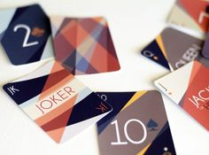 Dribbble - Cards Close Up by Rachel Groves
