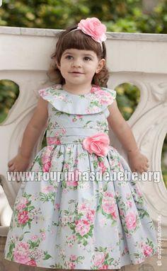 Vestidos de bebe — Moda Menina