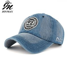 PopNobility New arrival high quality snapback cap demin baseball cap 5 color Jean badge embroidery hat for men women boy girl cap - Brand Name: Joymay Denim Baseball Cap, Denim Cap, Baseball Hats, Camouflage, Base Ball, Hat For Man, Letter Patterns, Embroidery Fabric, Mens Caps