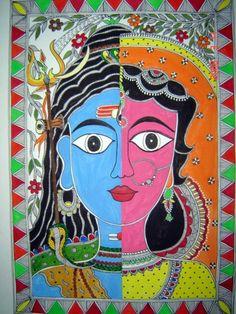 10 Best Madhubani Paintings by Vidushini images in 2018