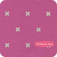 Cotton   Steel Basics Plummy XOXO Yardage <br/>SKU