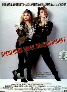 Affiches, posters et images de Recherche Susan désespérement (1985)