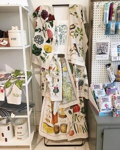Lots and lots of new goodies have hit the floor at the shop! You can purchase online or in store! We are in  with these amazing tea towels!