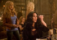 Burlesque with Cher & Christina Aguilera and other wonderful actors and actresses!! Loved this movie, ALOT :D