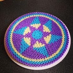 Mandala hama beads by merrilyme