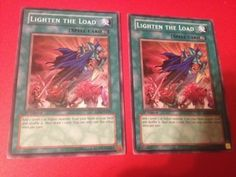 Yu-Gi-Oh-2x-Lighten-the-Load-RDS-EN047-Common-1st-Edition-Moderately-Pl