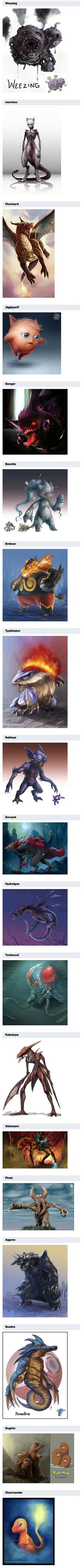 We have rounded up some realistic Pokemon character drawings that lean towards the creepy side, perfect for Halloween.