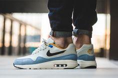 "On-Foot: Nike Air Max 1 Ultra Essential ""Bluecap"" - EU Kicks Sneaker Magazine"
