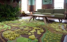 This Angela Adams rug is amazing... how it would transform a room!