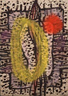 Yayoi Kusama, Flower, 1952