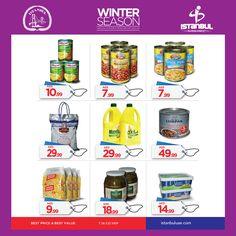 #January has ended, but the #winter #season is still ongoing. Visit the nearest #IstanbulSupermarket and shop now! انتهى شهر #يناير، لكن الشتاء لازال مستمراً. تسوق الآن لدى أقرب فروع سوبرماركت اسطنبول! #supermarket #emirate #offer #promotions #shopping #retail #uaeshopping #dubaiShopping #rak #abudhabi #ajman #alain #souq  #عرض #اسواق #سوق #الامارات #دبي #ابوظبي #تسوق #فول #حمص #زيت #شتاء