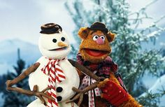 The Snowman and Fozzie Bear