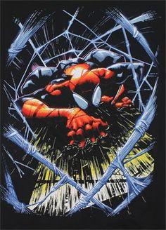 [ Web Of Lies – Marvel Comics T-shirt ]
