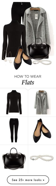 """Professional Wardrobe for All Ages Outfit: 10"" by vanessa-bohlmann on Polyvore featuring River Island, Warehouse, Givenchy, mizuki and Wet Seal"