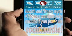 Focus more on the #workout and less on the #socialmedia update! #health #fitness #fitfam