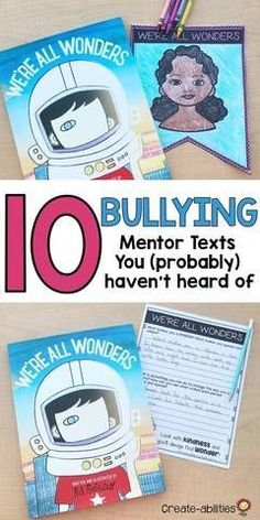 10 Bullying Mentor Texts You (Probably) Haven't Heard Of – Create-abilities Anti Bullying Activities, Bullying Lessons, Bullying Facts, Bullying Quotes, Friendship Activities, Kindness Activities, Friendship Lessons, Social Skills Lessons, Social Skills Activities