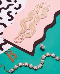 art direction | Topshop jewelry still life
