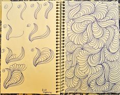 Drawing ideas easy doodles sketches zentangle patterns 18 Ideas for 2019 Zentangle Drawings, Doodles Zentangles, Doodle Drawings, Easy Drawings, Doodle Art, Zen Doodle, Pencil Drawings, Doodle Patterns, Zentangle Patterns