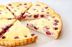 My wife is angling for me to make her this thin raspberry vanilla cheesecake. Looks yummy!