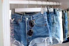 High Waisted Denim Shorts Cut Off Style like a Rock Star! Pick Your Size from DirtySouthVintagee on Etsy. Only Shorts, Shorts Jeans, High Waisted Shorts, Cutoffs, Waisted Denim, Hot Shorts, Summer Shorts, Denim Jeans, Sexy Jeans