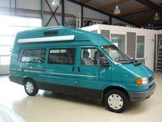 Karmann Karuso 2.4D 5cyl Stuurbekrachtiging Toilet uit 1994 te koop op CampersCaravans.nl Caravan, Campervan, Cars And Motorcycles, Volkswagen, Vehicles, Toilet, Motorbikes, Ideas, Rolling Stock