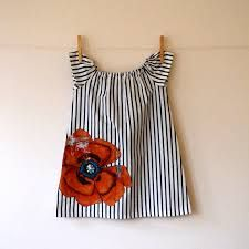handmade childrens navy dresses with applique - Google Search