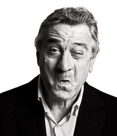I think I have watched nearly every film this man has ever been in. My favourites to date are Cape Fear, Good Fellas and more recently Meet The Parents. A face that tells a thousand stories. There is only one; Robert De Niro! x