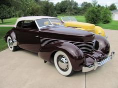 1937 Cord 810 Phaeton Convertible