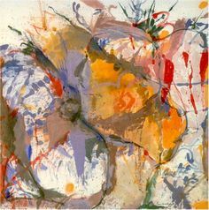 "Helen Frankenthaler ""Before the Caves"""