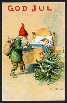 Julkort av G. Stoopendaal