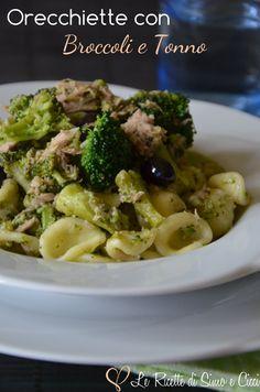 Orecchiette con Broccoli e Tonno