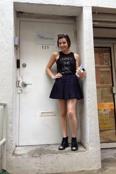 Hailee Steinfeld takes us behind the scenes at her first show of NYFW