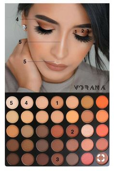 Gorgeous Makeup: Tips and Tricks With Eye Makeup and Eyeshadow – Makeup Design Ideas Makeup Eye Looks, Eye Makeup Steps, Simple Eye Makeup, Smokey Eye Makeup, Skin Makeup, Natural Makeup, Makeup Brushes, Make Up Designs, Makeup Morphe