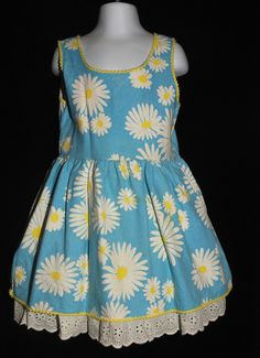 Vintage 1960's / Girls Mod Flower Power Dress / by CicelysCloset
