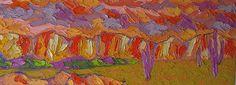 Desert Sunset: Jeff Ferst: Oil Painting - Artful Home