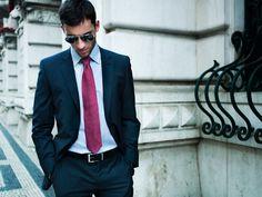 Fato 199€, Camisa 38€, Gravata 19€, Cinto 25€