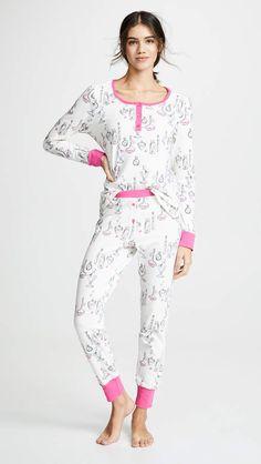 d1797813ed9 PJ Salvage Runway Floral Pajama Set