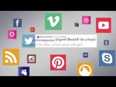 Social Blood App - YouTube