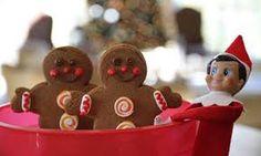 Résultats de recherche d'images pour « christmas elf on the shelf »