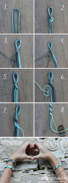 Simple DIY Chunky Throw Blankets - List Pin - The Friendship Bracelet . - Simple DIY Chunky Throw Blankets – List Pin – The Friendship Bracelet – Tutorial - Diy Friendship Bracelets Patterns, Diy Bracelets Easy, Bracelet Crafts, Macrame Bracelets, Bracelets For Men, Jewelry Crafts, Ankle Bracelets, Crochet Bracelet, Simple Friendship Bracelets