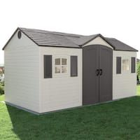 Every thought about how to house those extra items and de-clutter the garden? Building a shed is a popular solution for creating storage space outside the house. Whether you are thinking about having a go and building a shed yourself Plastic Storage Sheds, Plastic Sheds, Wood Storage Sheds, Garden Storage Shed, Outdoor Storage Sheds, Wooden Sheds, Storage Containers, Outdoor Garden Sheds, Backyard Sheds