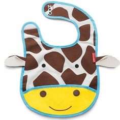 [ Skip Hop ] Zoo Bib Giraffe Price : IDR 160k  Zoo Bibs are lightweight & water-resistant with a handy catch-all pocket to keep things neat & tidy at mealtime.  Zoo Bibs have a clever tuck-away pouch perfect for travel or for storing when dirty.  Food safe : BPA-free PVC-free Phthalate-free. View tuck-away instructions !  Size open ( inches ) : 9l x 8.5h below the neck  #bib #apron #babybib #baby #kids #toddler #mom #babystuff #babyneeds #babynmom #momnkids #babyolshop #olshopindo…