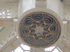 A fun detailing on a girder joint.