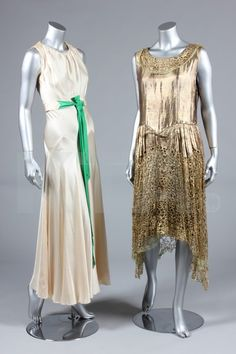 1920s gold lamé dress. So on point in modern fashion