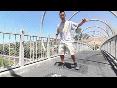 How to Breakdance | 1 Leg Patterns | Top Rock Basics - YouTube