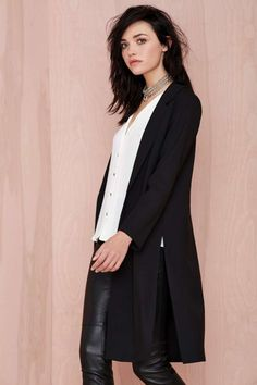 Eat My Duster Coat | Shop Clothes at Nasty Gal!