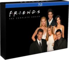 Friends: The Complete Series Blu-ray set arrives November 13th for just under three bills... all 236 episodes (90 hours) shoved into a 21-disc BD-50 set with the 17 hours of bonus features from the DVD releases, plus three hours of new special features. Will also feature DTS 5.1 audio, theres also a 32-page episode guide shoved into the case, which features lenticular shifting artwork that can be seen over on TV Shows On DVD. Theres no price on Amazon yet but the MSRP will be $279.98