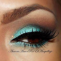 .@MaquillateconAurora GB | Turquoise